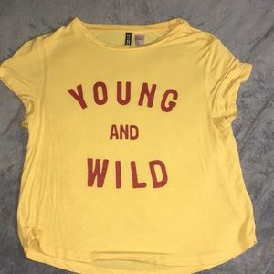 Young and Wild Tee